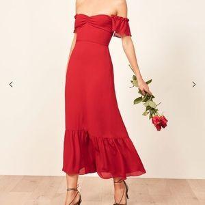 Reformation Butterfly Dress size 0